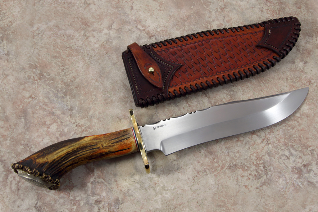 how to make a bowie knife out of a file