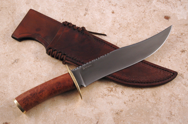 Rustic Bowie Rougeau Knives