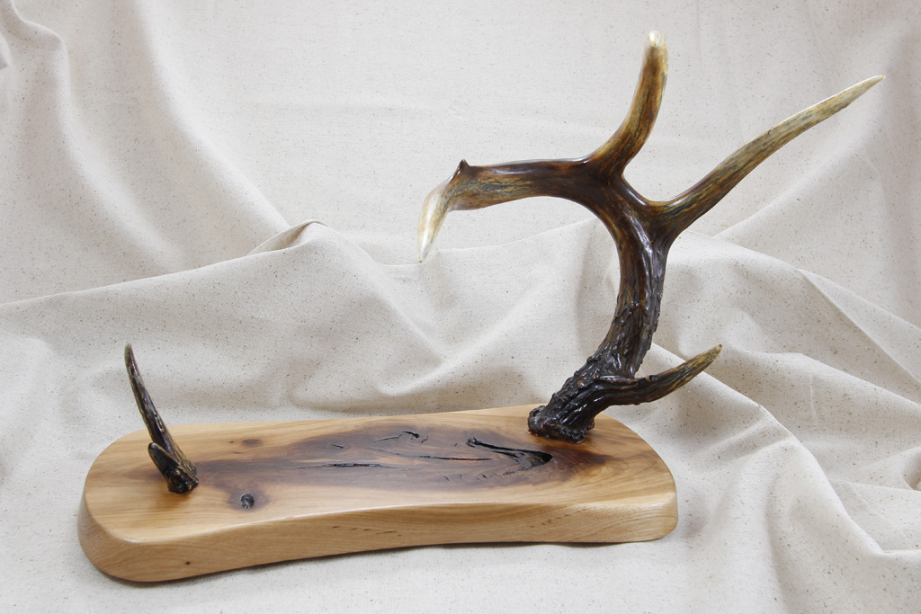 Deer Antler Display Stands Large A1 Rougeau Knives